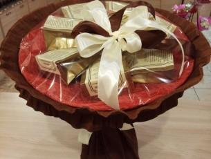 Подарочные букеты из кофе