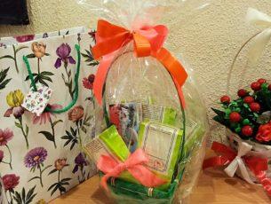 Подарок с мармеладом