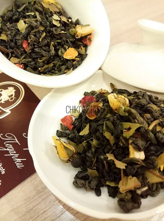 Лимонный зеленый чай Зеленый чай с лимоном (цедрой)