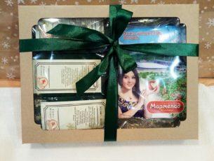 Коробка подарочная с чаем