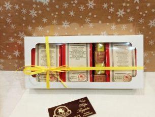 Классические черные чаи в коробочке в подарок