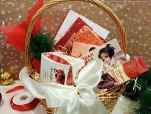 """Корзина в подарок """"Новогодняя мечта 2"""""""
