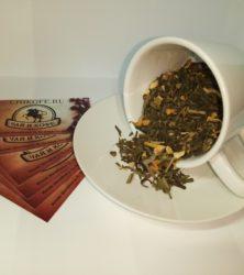 чай имбирный апельсин