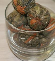 китайский связанный чай