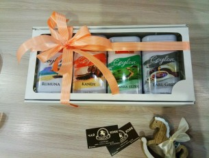 чай в подарочных банках